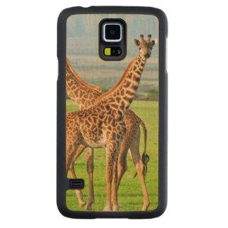 Two Giraffes Maple Galaxy S5 Case