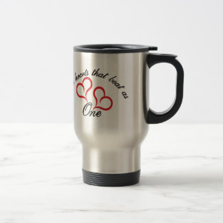 Two Hearts That Beat as One Travel Mug