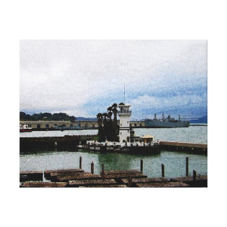 Two Icons (of San Francisco) II Gallery Wrap Canvas