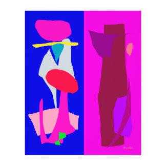 Two Imaginations 21.5 Cm X 28 Cm Flyer
