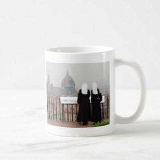 Two Nuns, Florence, Italy Coffee Mug