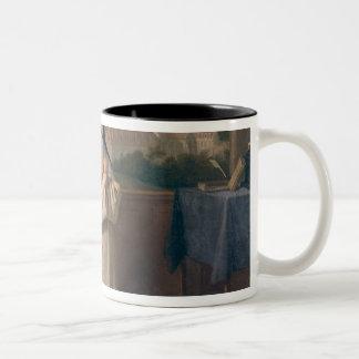 Two Nuns Two-Tone Coffee Mug