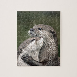 Two Otters Jigsaw Puzzle