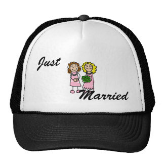 Two Pink Brides Cap