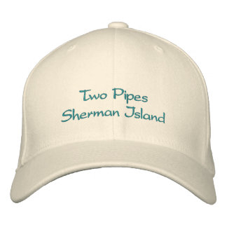 Two Pipes Sherman Island hat Embroidered Hats