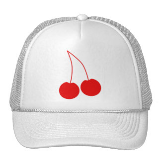 Two Red Cherries. Cap