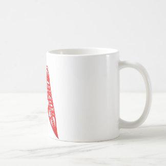 Two Red Feathers Coffee Mug
