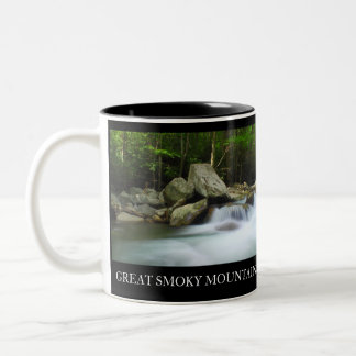Two-Sided Coffee Cup Great Smoky Mountains Two-Tone Mug