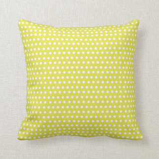 two sided green white polka dots red white stripes pillow