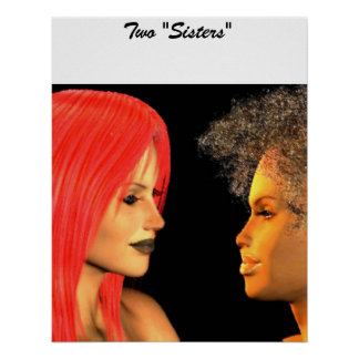 """Two """"Sisters"""" Print"""