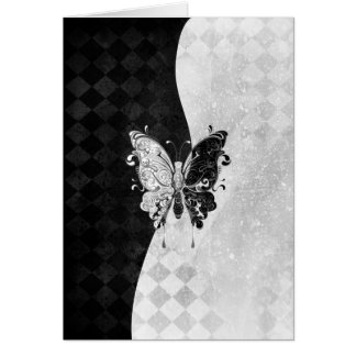 Two Tone Butterfly Note Card