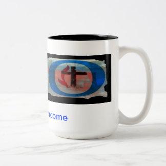 Two -Tone Coffee Mug H2O