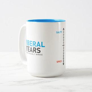 Two-Tone Mug 15ox Liberal Tears Metre