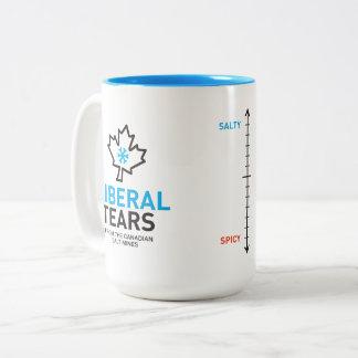 Two-Tone Mug 15ox Liberal Tears Metre Canada
