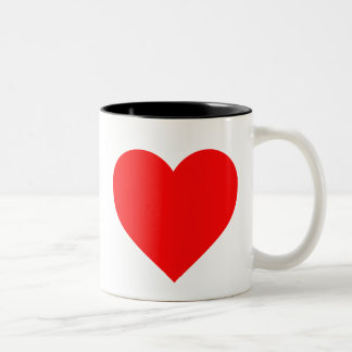 Two Toned Ohio Library Love Two-Tone Coffee Mug