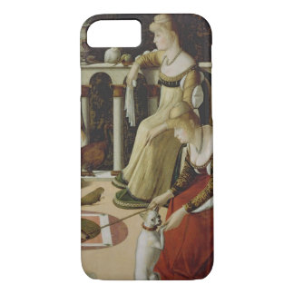 Two Venetian Ladies (panel) iPhone 8/7 Case