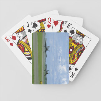 Two Vought F4U Corsairs, Landing_WWII Planes Playing Cards