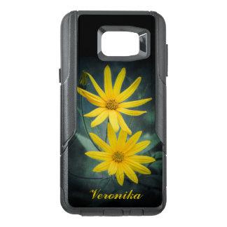 Two yellow flowers of Jerusalem artichoke OtterBox Samsung Note 5 Case