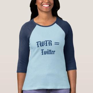 TWTR = Twitter T-Shirt