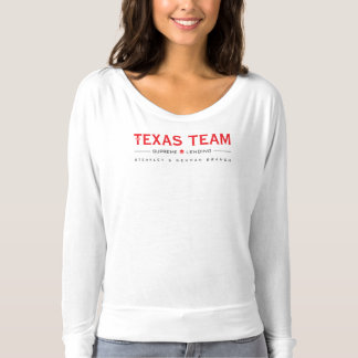 TX Team - Women's LS Flowy T-Shirt