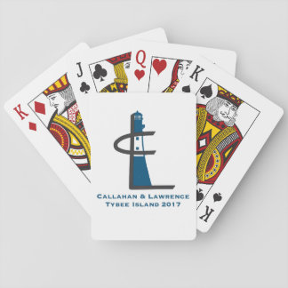 Tybee Island Family Reunion 2017 Playing Cards