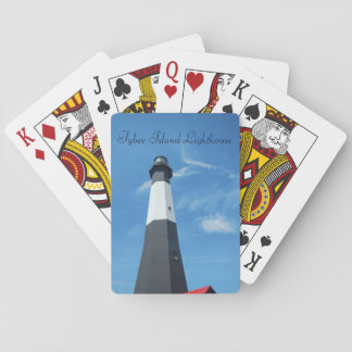 Tybee Island Lighthouse playing cards
