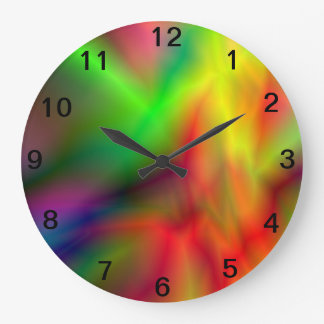 Tye Dye Wall Clock