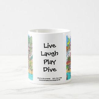 Tyll's Dive Shop mug