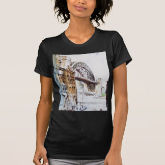 Tyne Bridge from Dean Street Fitted Tee Shirt