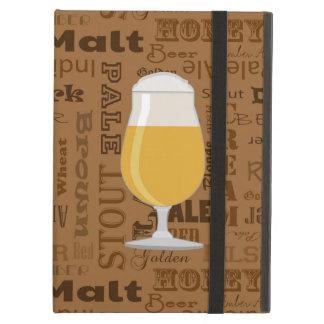 Types of Beer Series Print 4 iPad Air Cover