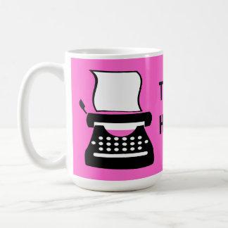 Typewriter - Manual Typing Old School Writing Coffee Mug