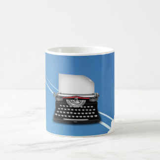 Typewriter Basic White Mug