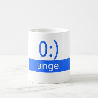 Typography Fun Emoticon: Angel Coffee Mug