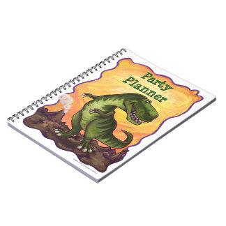Tyrannosaurus Rex Party Planner Notebook