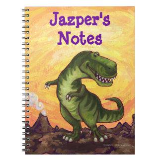 Tyrannosaurus Rex Writting Stuff Notebooks