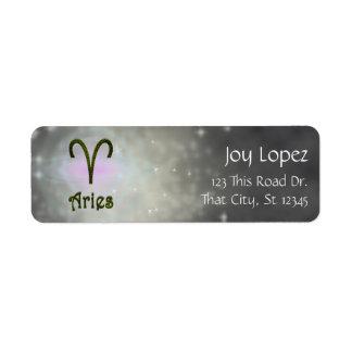 U Pick Color/ Aries Zodiac Sign Personalize