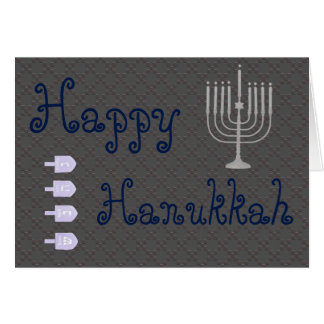 U Pick Color/ Happy Hanukkah Card