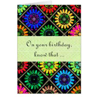 U Pick Color/ Radiant Scrapbook Flowers on Display Card