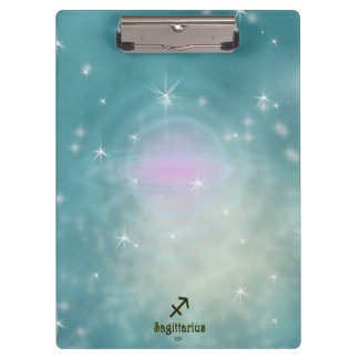 U Pick Color/ Sagittarius Zodiac Sign Clipboard