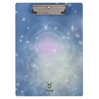 U Pick Color/ Taurus Zodiac Sign Clipboards