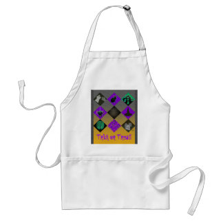 U Pick Gradient/Halloween Trick or Treat for Candy Standard Apron