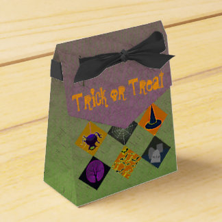 U Pick Gradient/Halloween Trick or Treat for Candy Favour Boxes