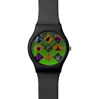 U Pick Gradient/Halloween Trick or Treat for Candy Wristwatch