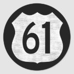 U.S. Highway 61 Route Sign Stickers