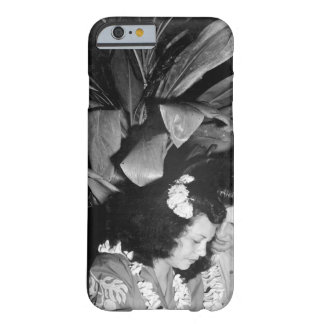 U.S. Navy pilot and date stand under_War Image Barely There iPhone 6 Case