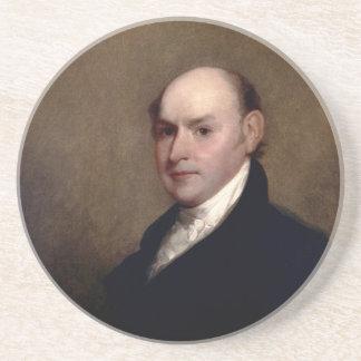 U.S. President John Quincy Adams by Gilbert Stuart Coaster