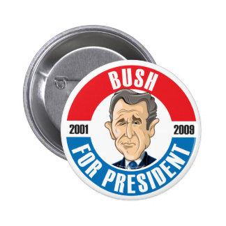 U S Presidents Campaign Button 43 George Bush