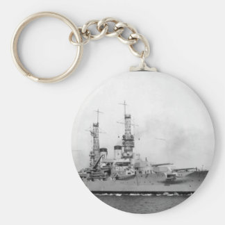 U.S.S. Arkansas, ca.  1918.  Enrique_War Image Key Ring