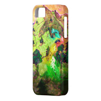 UCI mountainbike contemporary inspiration iPhone 5 Covers