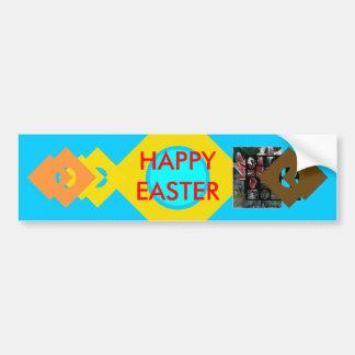 !UCreate Happy Easter Car Bumper Sticker
